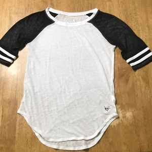 3/4 sleeve Justice shirt